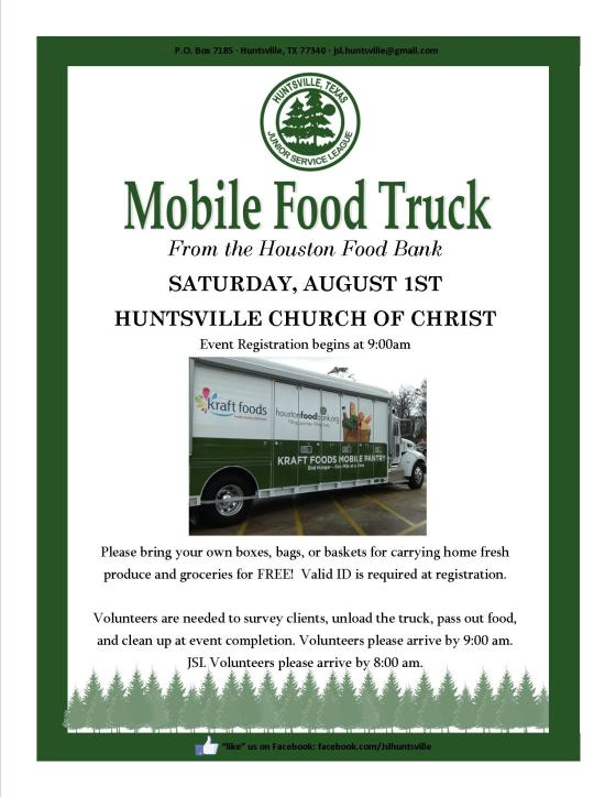 Food Truck Flyer-August