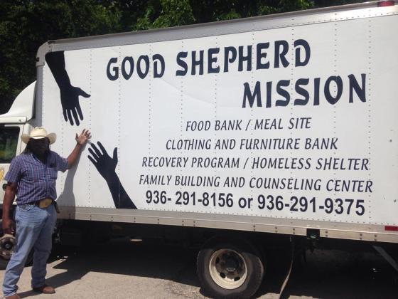 good shepherd mission food truck