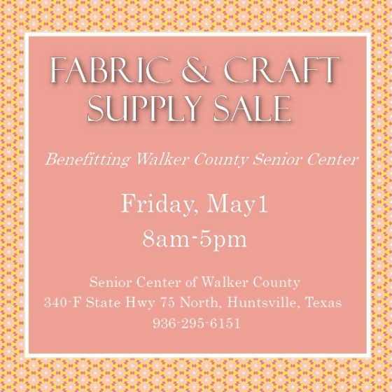 Senior Center Fabric Sale