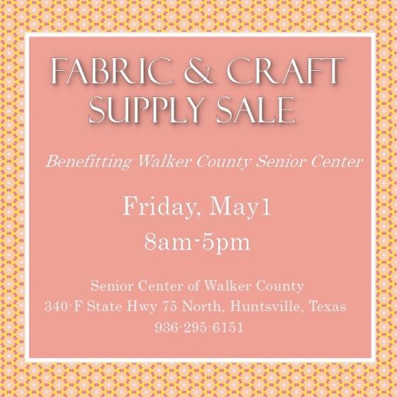 Senior Center Fabric Sale