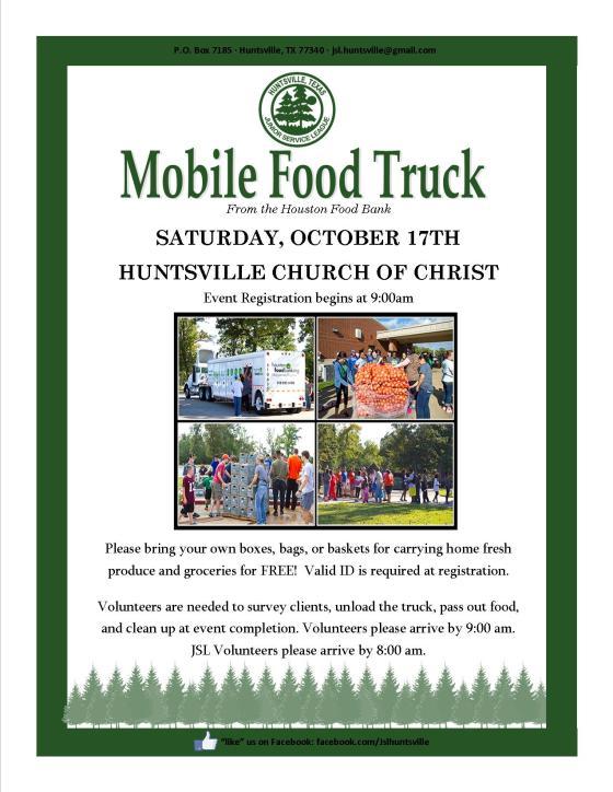 Food Truck Flyer-October