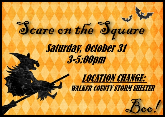 scare on the square location change