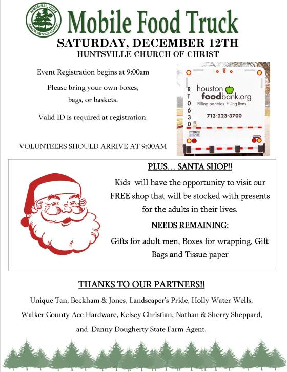 Food Truck and Santa Shop Handout 2