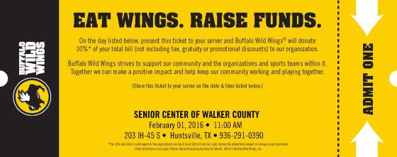 BWW for Senior Center