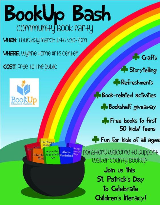 book up flyer
