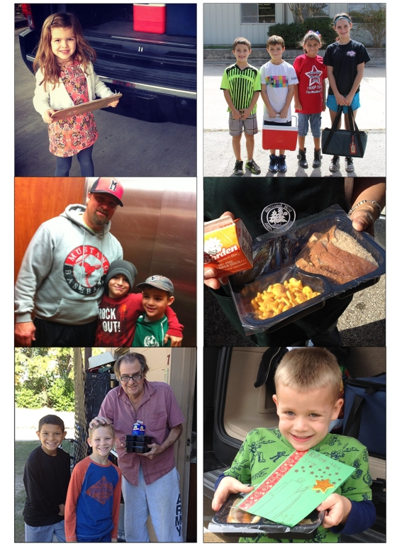 meals on wheels collage
