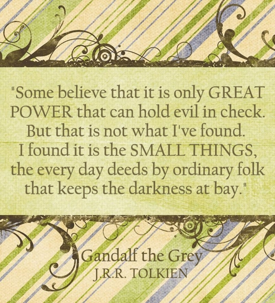 quote - gandalf the grey 1