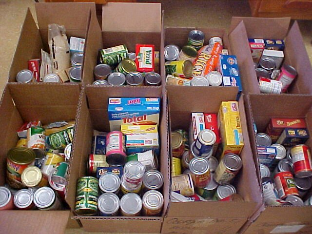 Fill the pantry at Good Shepherd Mission Huntsville Junior