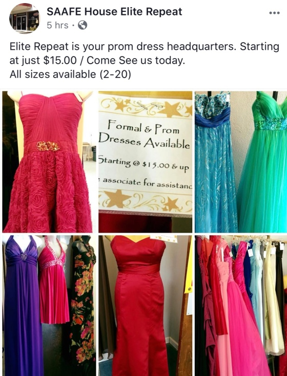 Make a Prom Dream become reality and help a local charity at the ...